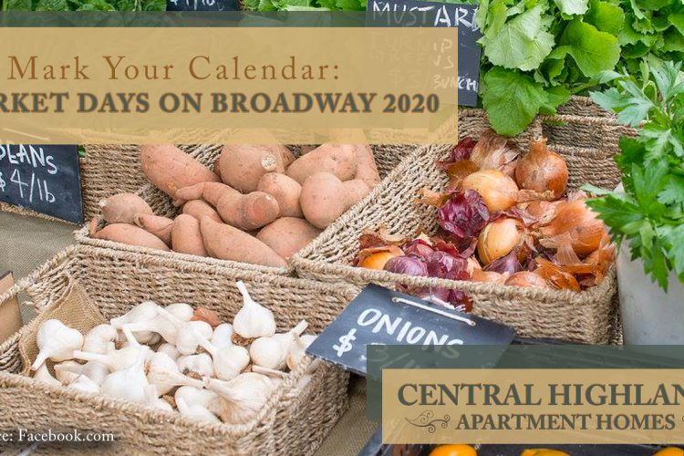 Mark Your Calendar: Market Days on Broadway 2020