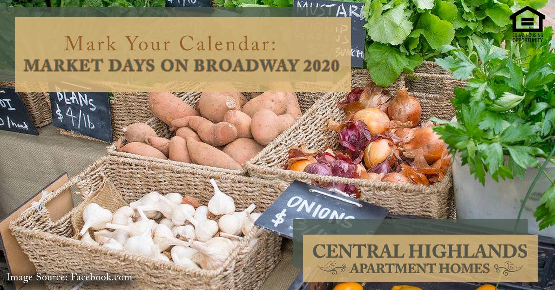 Market Days on Broadway 2020
