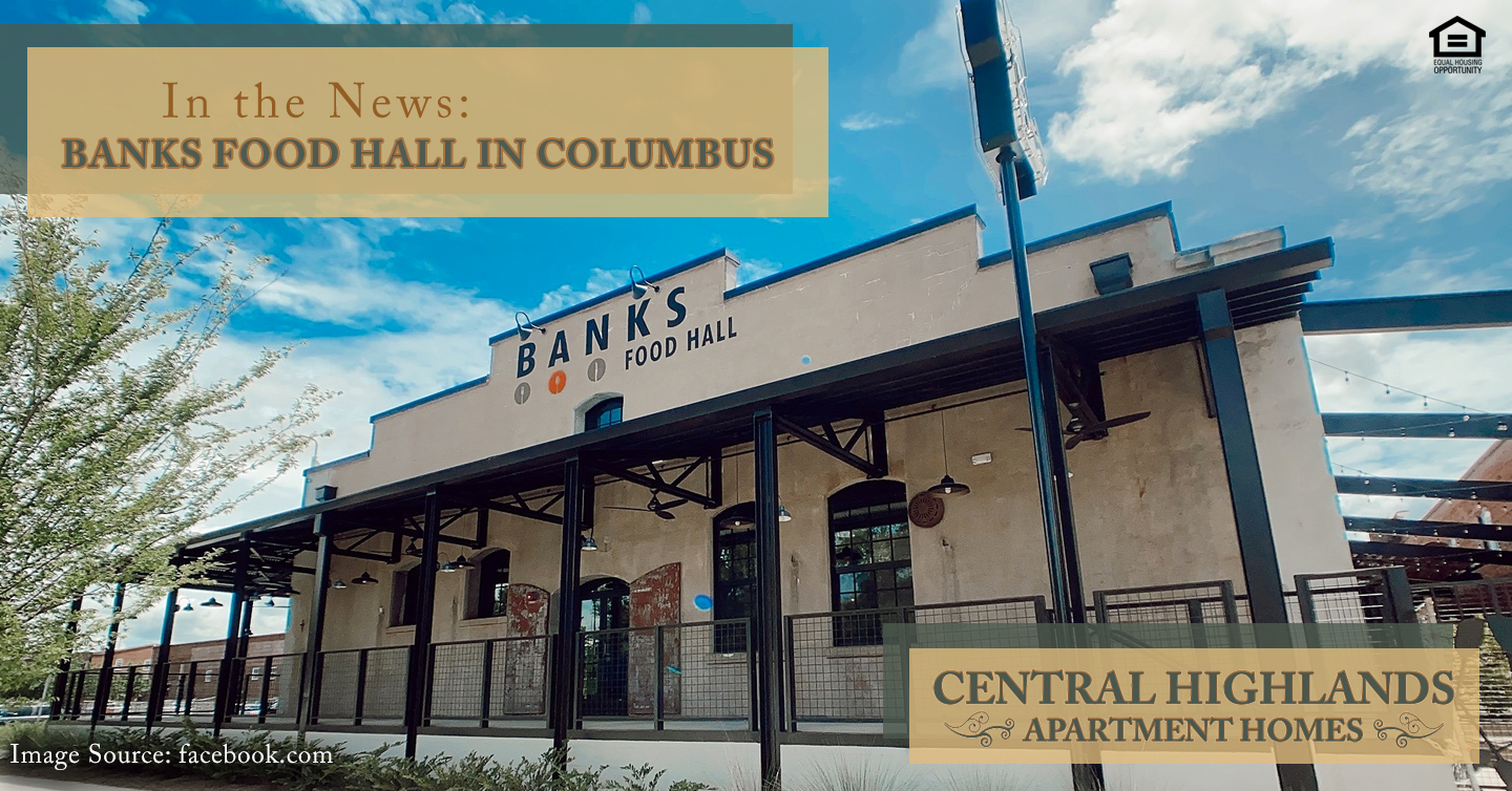 Banks Food Hall in Columbus