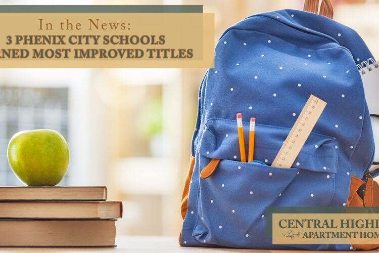 In the News: 3 Phenix City Schools Earned Most Improved Titles