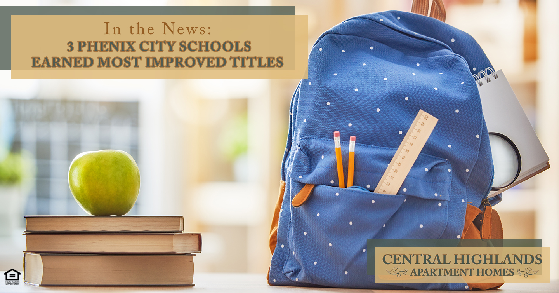 Phenix City schools earned most improved